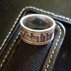 James Avery Song of Solomon Silver Ring sz7